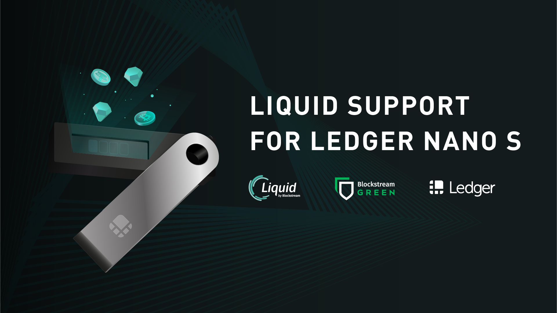 Liquid Asset Support Now on Ledger Nano S